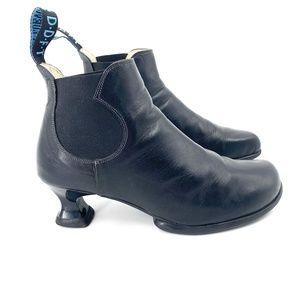 John Fluevog Wearevers Danke Scuplted Heel Booties